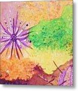 Sea Urchins - Abstract Metal Print