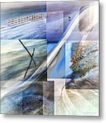 Sea Water Art Metal Print