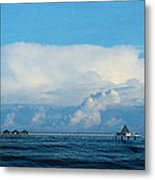 Seabridge Metal Print