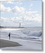 Seabright Beach Metal Print