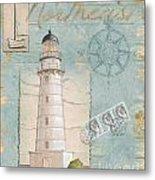 Seacoast Lighthouse II Metal Print