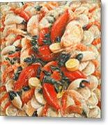 Seafood Extravaganza Metal Print