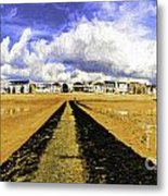 Seafront at Southend on Sea Metal Print