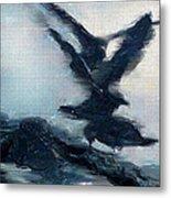 Seagull Grace Metal Print