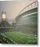 Seahawks Stadium 2 Metal Print