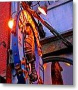 Seahorse Tavern Metal Print