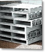 Sealed Air Is So Fresh Metal Print