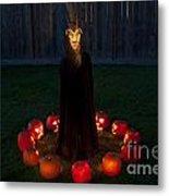 Seance Pumpkins Demon Metal Print