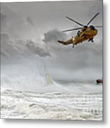 Search And Rescue Metal Print