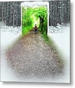 Searching Better Weather Metal Print