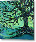Searching Branches Metal Print