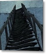 Searching For The Light Metal Print