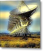 Searching The Stars Metal Print