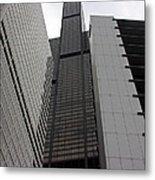 Sears Between Two Buildings Metal Print