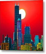Sears Tower Willis Tower Chicago Metal Print