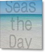 Seas The Day Metal Print