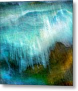 Seascape #20 - Touching Your Hand Metal Print