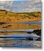 Seascape At Phillip Island Metal Print