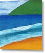 Seascape Metal Print by Bav Patel