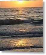 Seascape Delight Metal Print