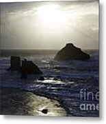 Seascape Oregon Coast 4 Metal Print
