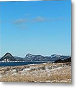 Seascape - Panorama Metal Print by Barbara Griffin