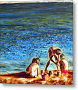 Seascape Series 3 Metal Print
