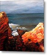 Seascape Series 6 Metal Print