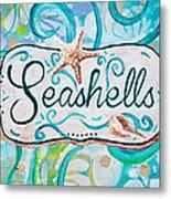 Seashells IIi Metal Print