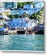 Seaside B And B Metal Print