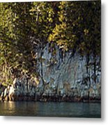 Seaside Cliffs Metal Print