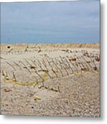 Seaside Heights...beyond The Dunes. After Hurricane Sandy Metal Print