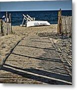 Seaside Park New Jersey Shore Metal Print