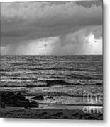 Seaside Rainstorm 2 Metal Print