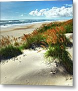 Seaside Serenity I - Outer Banks Metal Print by Dan Carmichael
