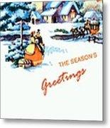 Season Greetings Metal Print
