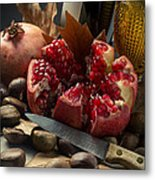Seasonal Still-life Metal Print