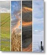 Seasons Of The Palouse II Metal Print by Latah Trail Foundation