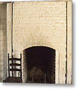 Seat By The Hearth Metal Print
