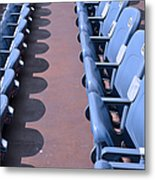 Seating 2 Metal Print