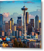 Seattle Afternoon Metal Print