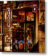 Seattle Cigar Shop Metal Print