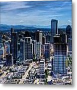 Seattle City Metal Print