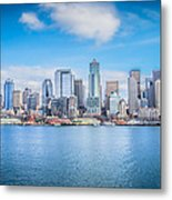 Seattle Days Metal Print by Shelby Hall