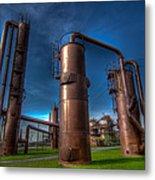 Seattle Gas Works Park Metal Print