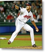 Seattle Mariners V Cleveland Indians Metal Print