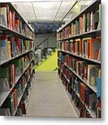 Seattle Public Library Metal Print