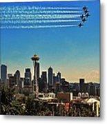 Seattle Seafair Metal Print