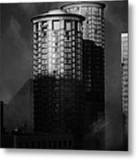 Seattle Towers Metal Print