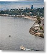 Seattle Waterfront 3 Metal Print